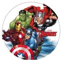 disque-gateau-superheros-avengers