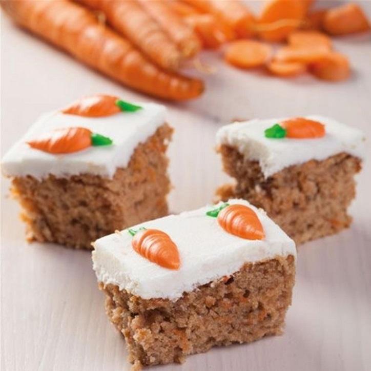 preparation pour cake aux carottes
